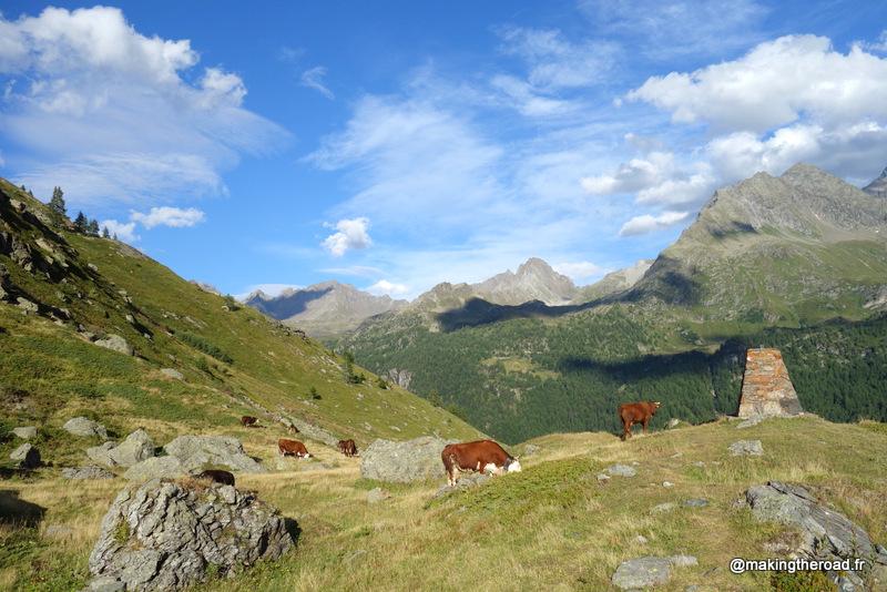 alpes italienne randonnée valgrisenche val aoste lago san grato