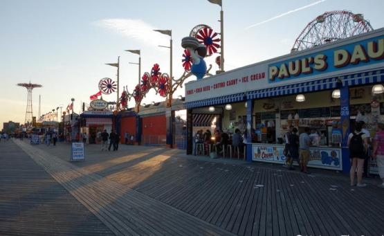 plage new york brightown beach Coney Island blog voyage