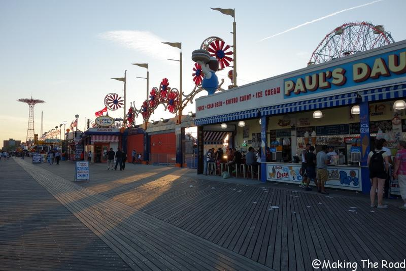 new york plage brightown beach Coney Island new york bon plan