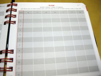 Why using a diary (tracking log book) for your exercise programme is so important...