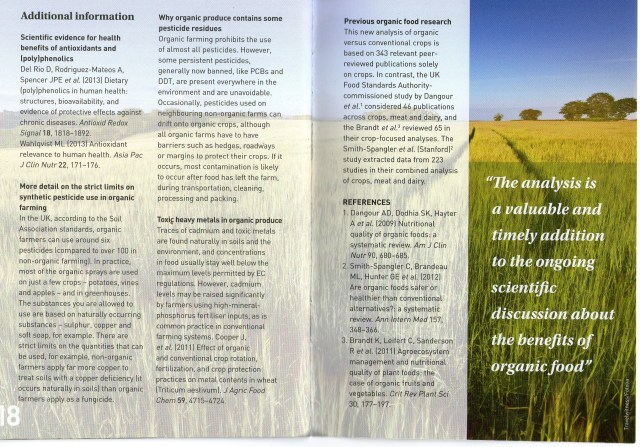 THE DIFFERENCE BETWEEN ORGANIC AND NON-ORGANIC FOOD - PAGE 10