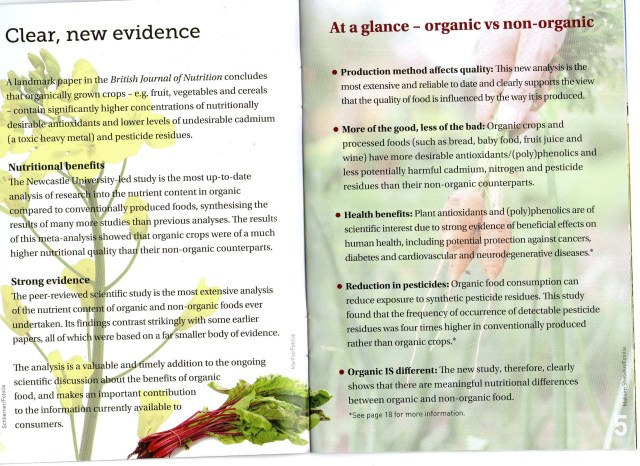 THE DIFFERENCE BETWEEN ORGANIC AND NON-ORGANIC FOOD - PAGE 3