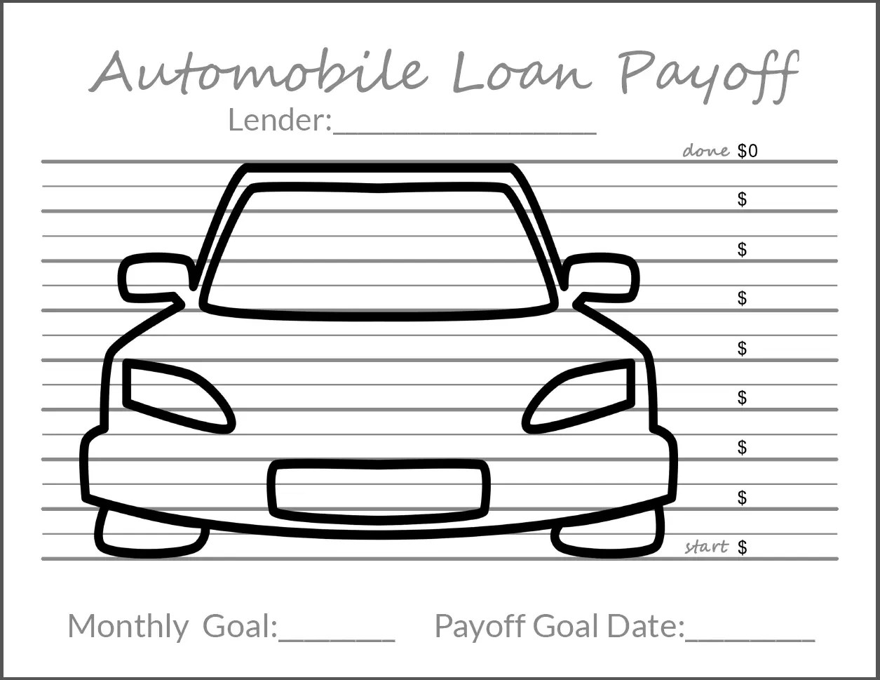 photograph relating to Free Printable Debt Free Charts known as Monitoring Your Credit card debt Objectives
