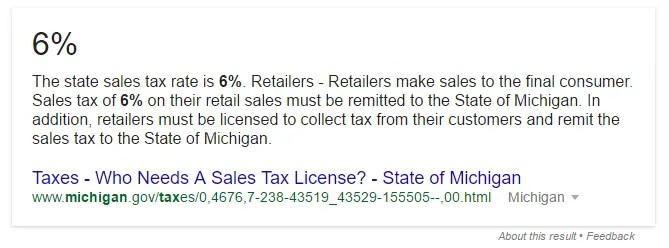 mi sales tax rate