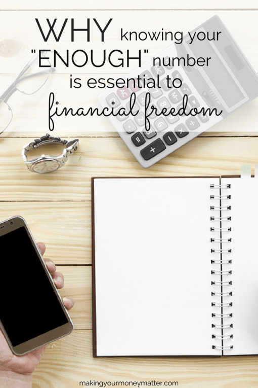 """Why knowing your """"enough"""" number is essential to financial freedom"""