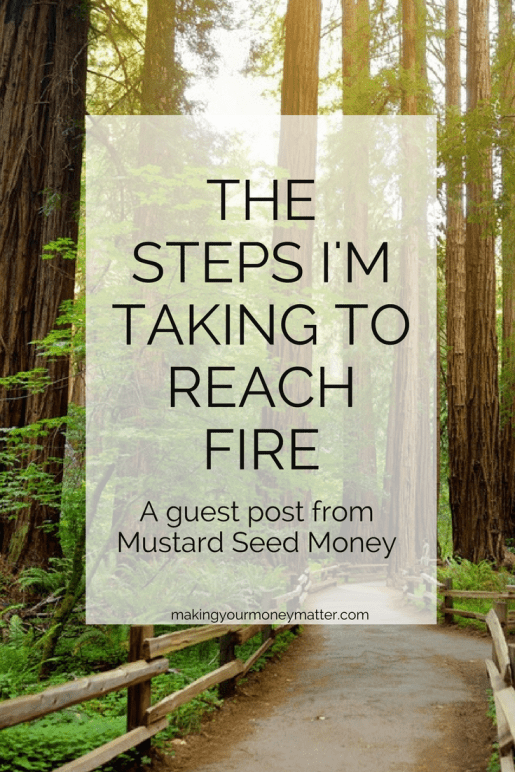 This is exactly how to reach Financial Independence and Retire Early. An amazing guest post from Rob at Mustard Seed Money!