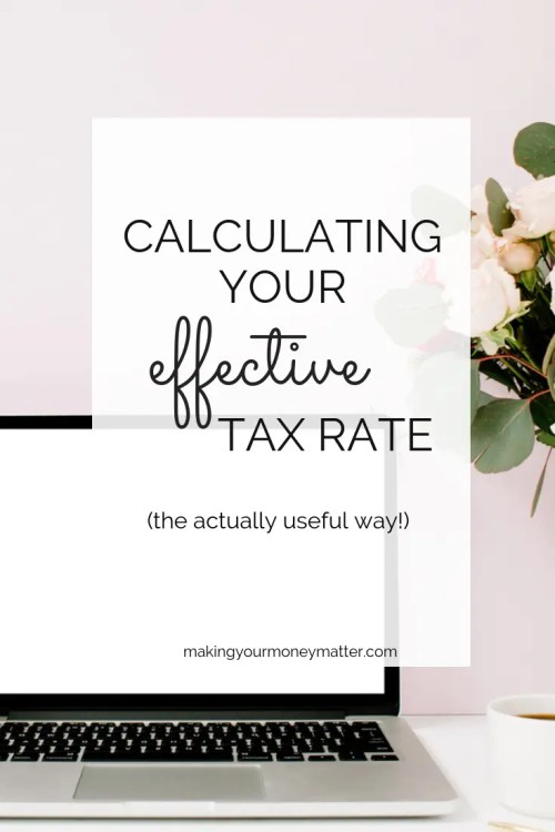 Is it worth the time to calculate your effective tax rate? Learn why and how it can benefit you.