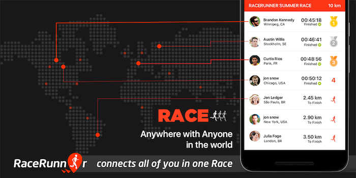 RaceRunner (Running App) Review
