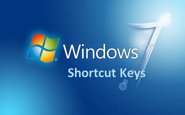 Tombol Perintah Pintas (Shortcut) Pada Keyboard Windows 7