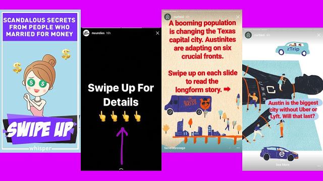 Cara Membuat Dan Menggunakan Fitur Swipe Up Di Instagram Stories Makintau Com