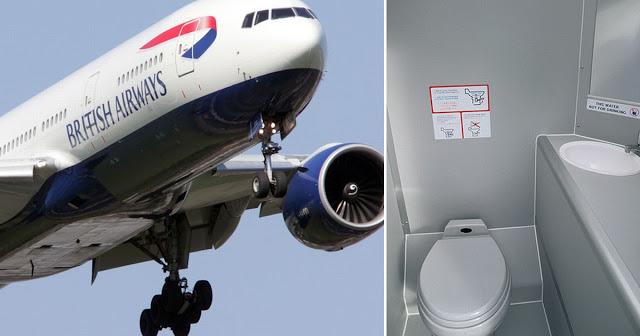Kemana Kotoran di Toilet Pesawat Dibuang?