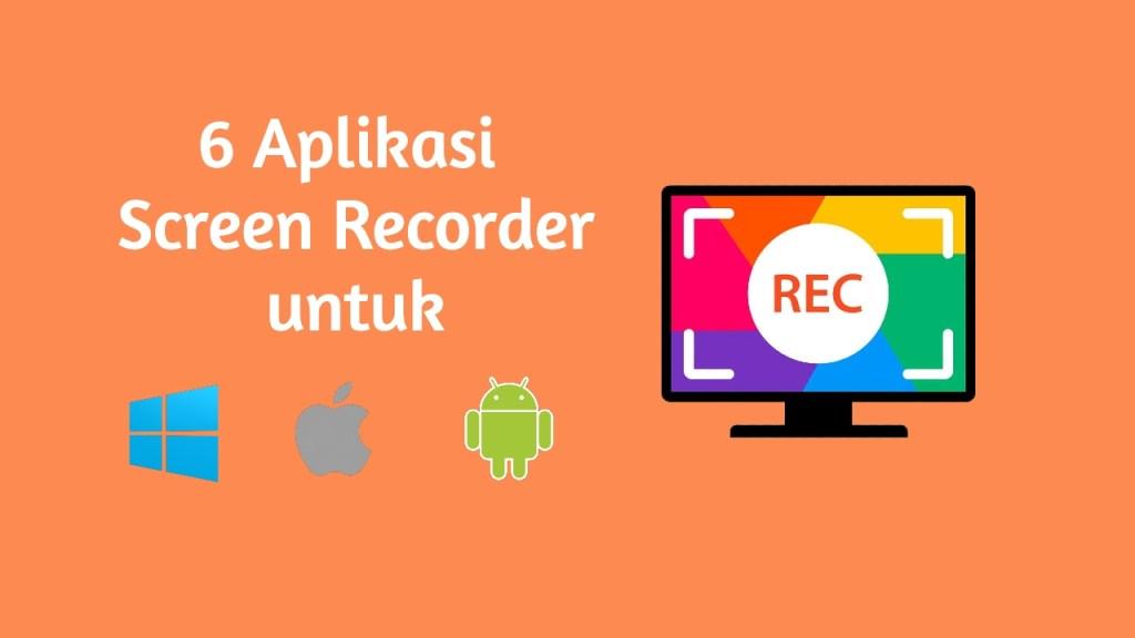 aplikasi screen recoreder | makintau.com