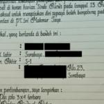 contoh surat lamaran tulisan tangan