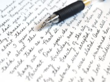jenis tulisan tangan terbaik
