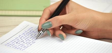 tulisan tangan cantik