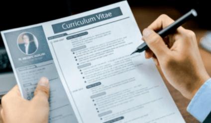 daftar riwayat hidup lamaran kerja tulisan tangan