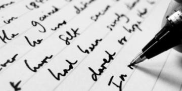 karakter tulisan tangan jelek