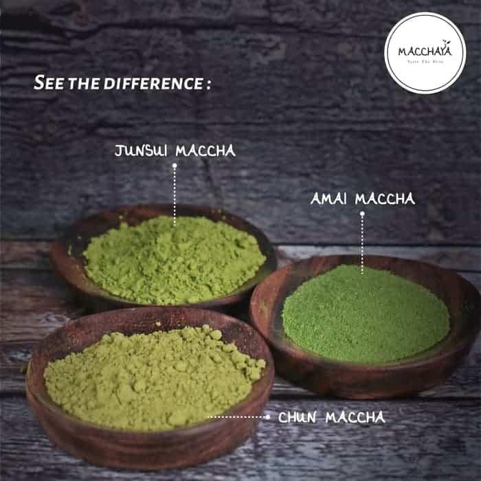 jenis teh hijau bubuk matcha