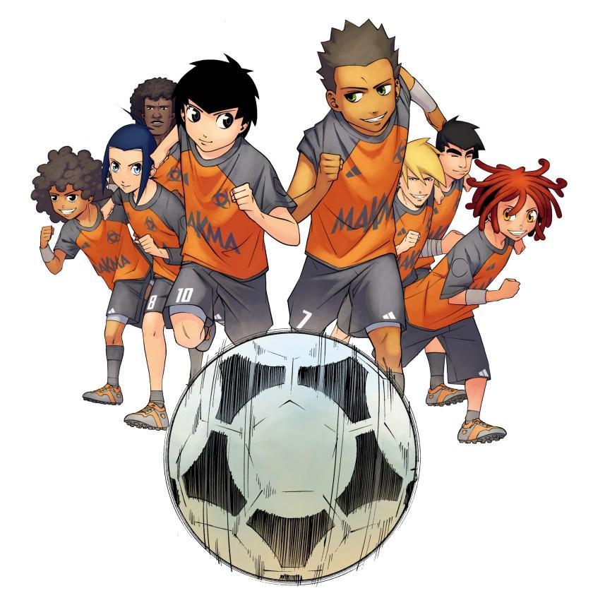 L'Équipe Z, un groupe soudé déterminé à remporter la victoire.