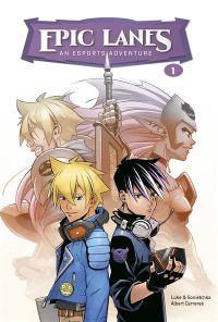 Epic Lanes : un des nombreux mangas dessinés par Albert Carreres.