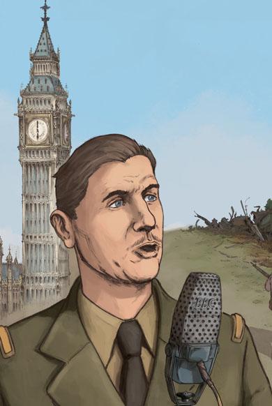 Charles de Gaulle en BD