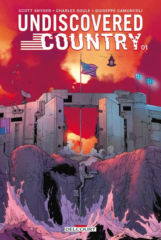 Undiscovered Country (éditions Delcourt)