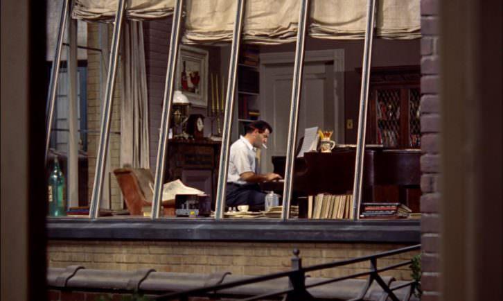 Imagen de La ventana indiscreta, de Alfred Hitchcock. Proyecto 3CMCV
