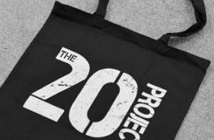 The 20 Project Tote Bag e1466446261533