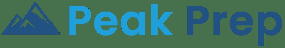 Peak Prep logo