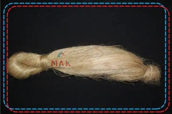 scutched long fiber