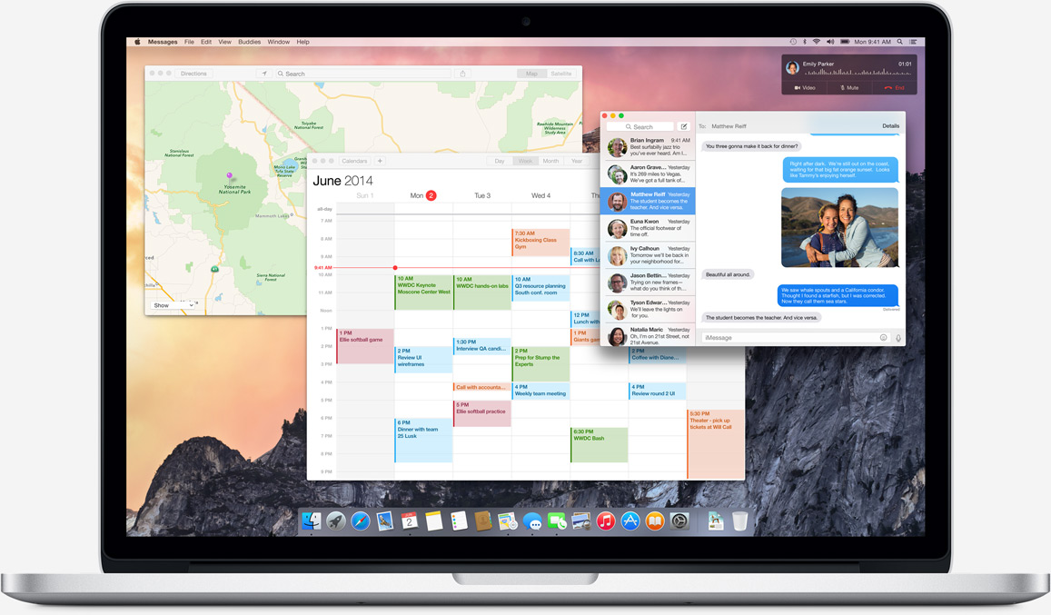 Lo más destacado de OS X Yosemite resumido en 3 minutos