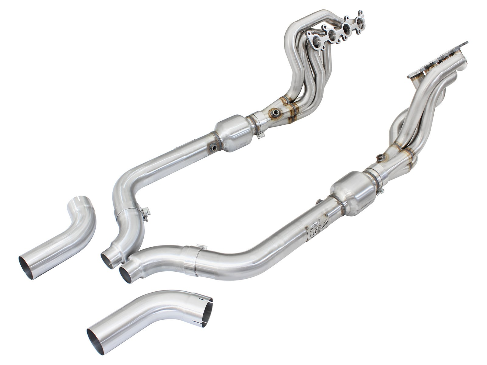 Mustang Gt 5 0l Afe Twisted Steel Long Tube