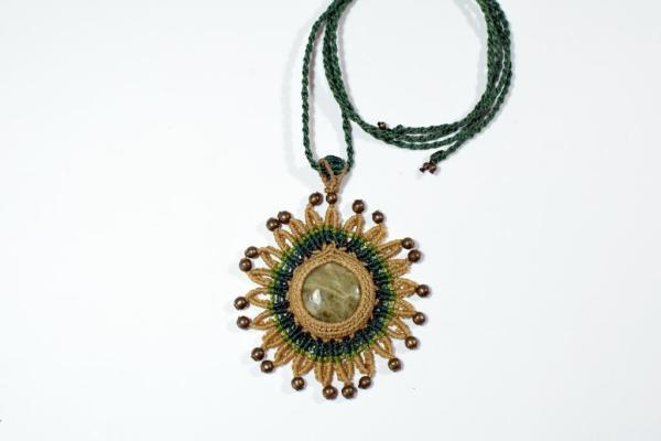 Collar joyería bohemia