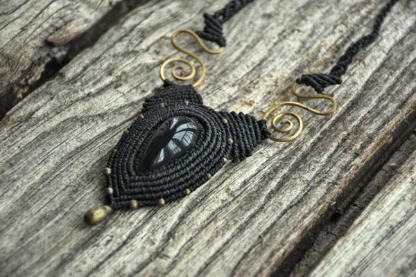 Imágenes de collares con obsidiana