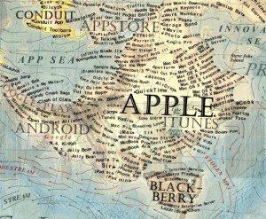 16 Dünya İnternet Haritası 1.0