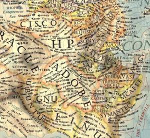 17 Dünya İnternet Haritası 1.0