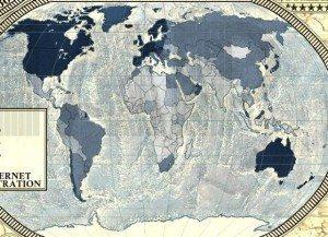 22 Dünya İnternet Haritası 1.0