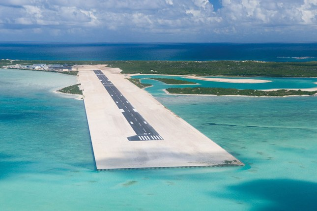 TURKS & CAICOS SPORTING CLUB AT AMBERGRIS CAY AIRSTRIP