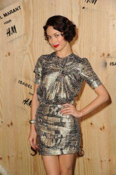 Olga Kurylenko is wearing Isabel Marant pour H&M