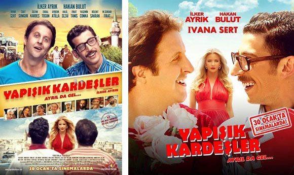 yapisik-kardesler-afis Türkiye'de, 2015 Yılının En Çok İzlenen Filmleri