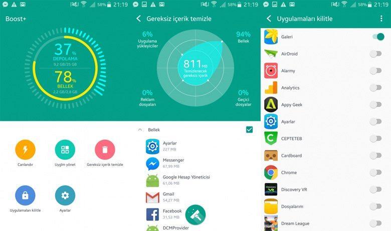 HTC-Boost Android Telefonları Hızlandıracak 5 Uygulama