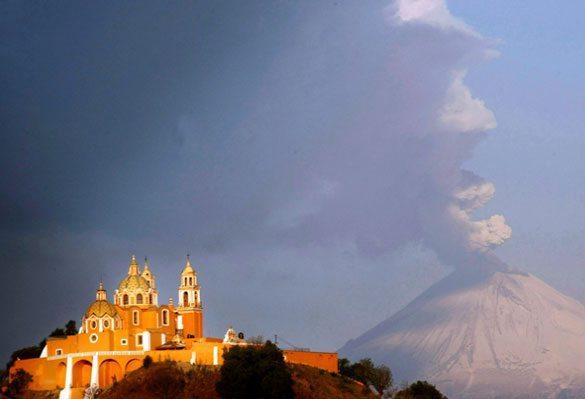 Popocatepetl Dünyadaki En Ünlü Volkanlar