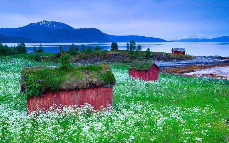 Skjolden,-Norveç