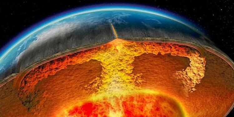 -dunya-çekirdek- Dünya Ve Uzay Hakkında İlginç Gerçekler