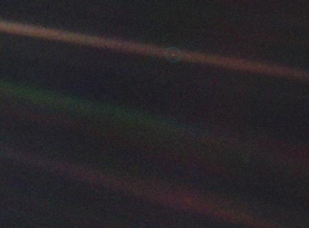 -soluk-mavi-nokta- Dünya Ve Uzay Hakkında İlginç Gerçekler