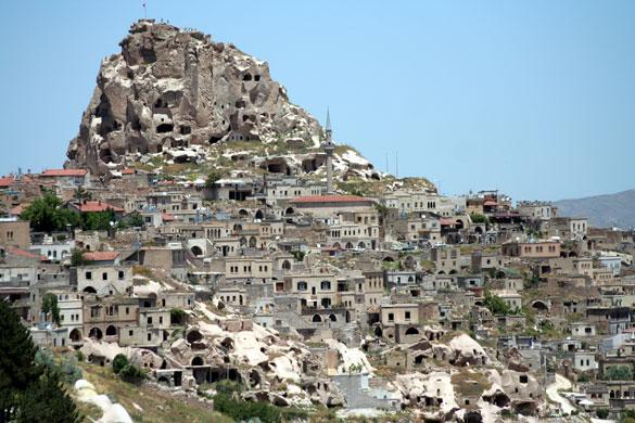 uchisar-kapadokya Kapadokya'da Gezilecek En Güzel 10 Yer