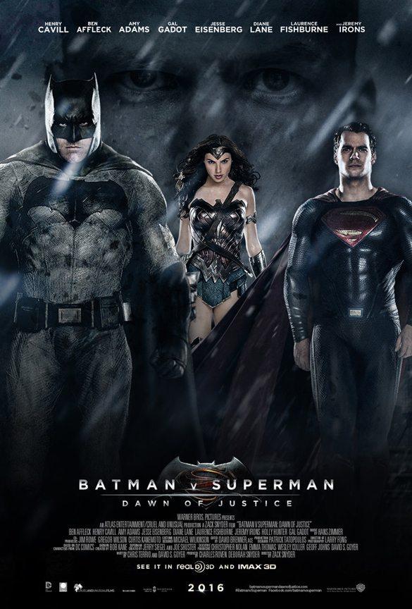 Batman v Superman: Dawn of Justice 2016 Yılında Vizyona Giren Filmler
