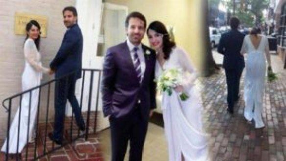 BAŞAK SAYAN – MURAT VARDAL 2016 Yılında Evlenen Ünlüler