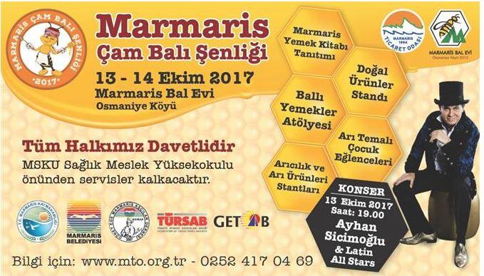 Ayhan Sicimoğlu'yla, Marmaris Çam Balı Şenliği