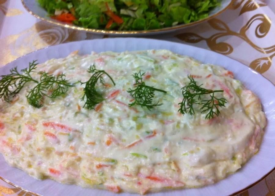 Yoğurtlu Kabak Salatası Tarifi - Yoğurtlu Kabak Salatası Nasıl Yapılır?